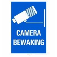 Bordje camerabewaking