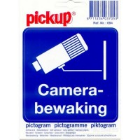 Sticker camerabewaking