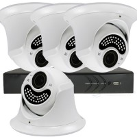 camera kit 30meter ir dome camera's