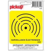 Sticker elektronisch beveiligd